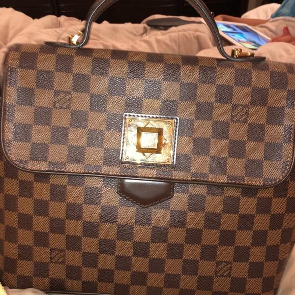 5ad70b2e25b Louis Vuitton Handbags - Louis Vuitton Damier Ebene Bergamo GM